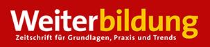 Weiterbildung Zeitschrift Logo